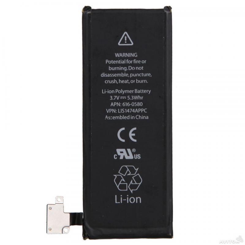 Аккумулятор телефона iphone 4s