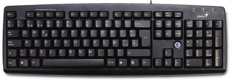 Проводная клавиатура Genius K639 PS/2  black