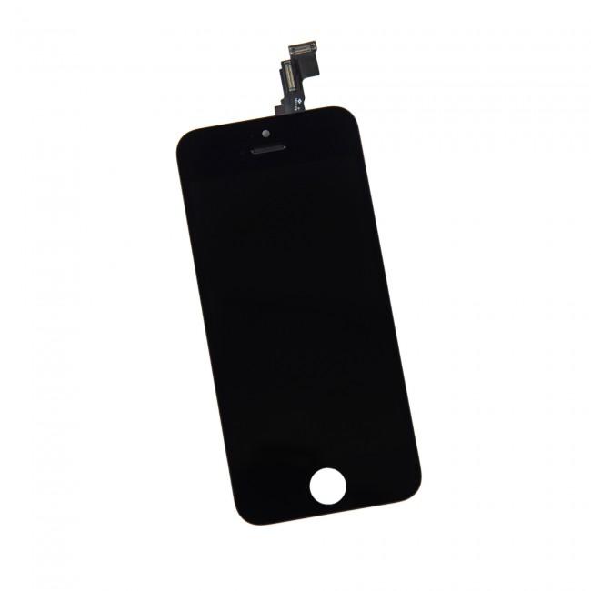 Дисплей   тачскрин Iphone 5c черный (1-я категория)