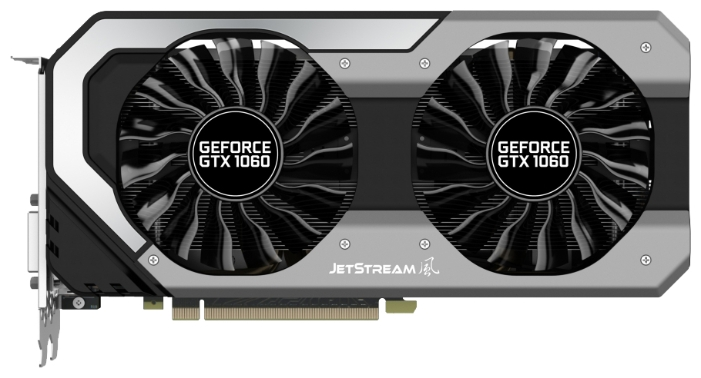 Видеокарта 3072Mb Palit SuperJetStream GeForce GTX 1060