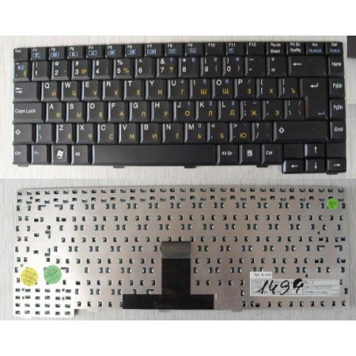 Клавиатура ноутбука RoverBook Voyager V555/ 554/ 552/ Clevo M55/ Clevo M660 <MP-03086SU-4304L>