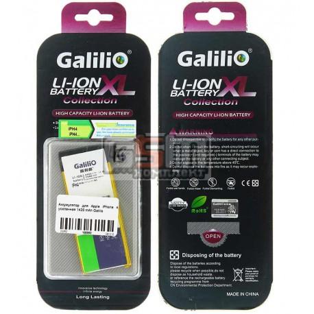 Аккумулятор телефона iphone 4 Galilio 1420 mah