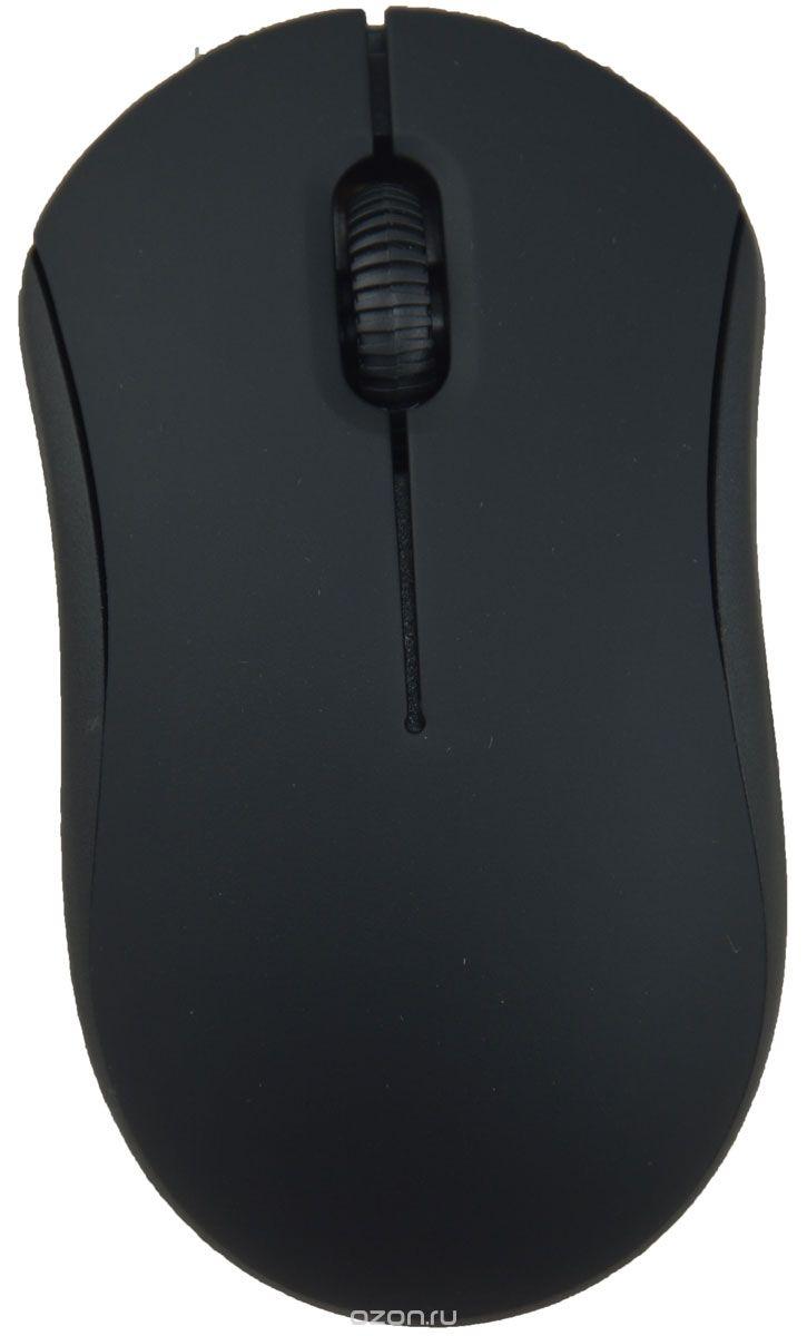 Мышь Ritmix ROM-111 оптическая проводная USB, черный