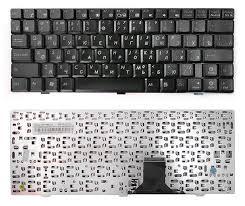 Клавиатура ноутбука Asus Eee PC 1000HE/1002HA/1003 черный