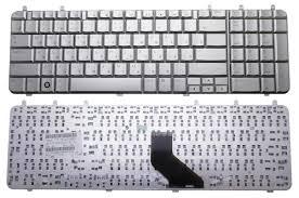 Клавиатура ноутбука HP Pavilion DV7-1000/DV7-1100/DV7-1200 серебро