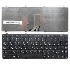 Клавиатура ноутбука Lenovo Y470 черный