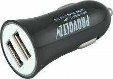 АЗУ-USB 2 выхода max 2,1A PROVOLTZ черный Вид 1