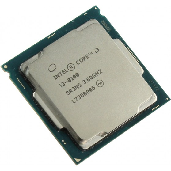 Процессор s.1151/2 Intel Core i3-8100