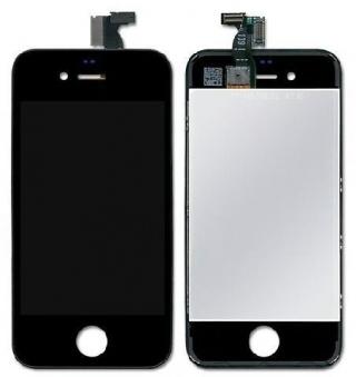 Дисплей   тачскрин iphone 4s черный