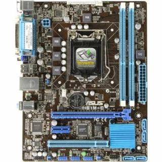 Материнская плата s.1155 ASUS H61M-C, SVGA, 2xDDR3, microATX, 1xPCI-E x16, 1xPCI-E x1, 1xPCI