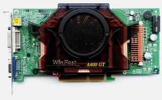 Видеокарта 128MB  Leadtek WinFast A400 TDH