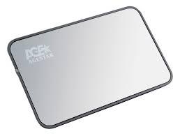"""Бокс для HDD 2.5"""" AgeStar Silver USB 2.0 <SUB2A8>"""