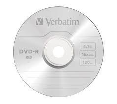 Диск DVD-R Verbatim 4.7Gb