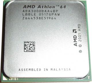 Процессор s.754 AMD Athlon 64 3000  2.0Ghz