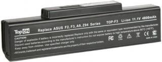 Аккумулятор ноутбука Asus (A32-F3) F2, F3, M51 4800mAh 11.1V