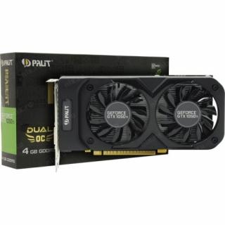 Видеокарта 4096Mb  PALIT GeForce GTX 1050TI <PA-GTX1050Ti Dual-4G>