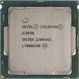 Процессор s.1151 Intel Celeron G3930 2.9ГГц, 2МБ, OEM