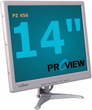 """Монитор 15"""" ProView PZ-456 1024 x 768 60 Гц"""