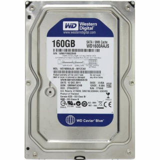 "Жёсткий диск 3.5"" 160Gb, 7200rpm, 8Mb, Sata, Western Digital <WD1600AAJS>"