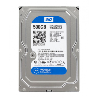 "Жёсткий диск 3.5"" 500Gb, 7200rpm, 32Mb, Sata2, Western Digital <WD5000AZLX>"